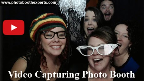 Video capturing of the activity inside the Photo Booth