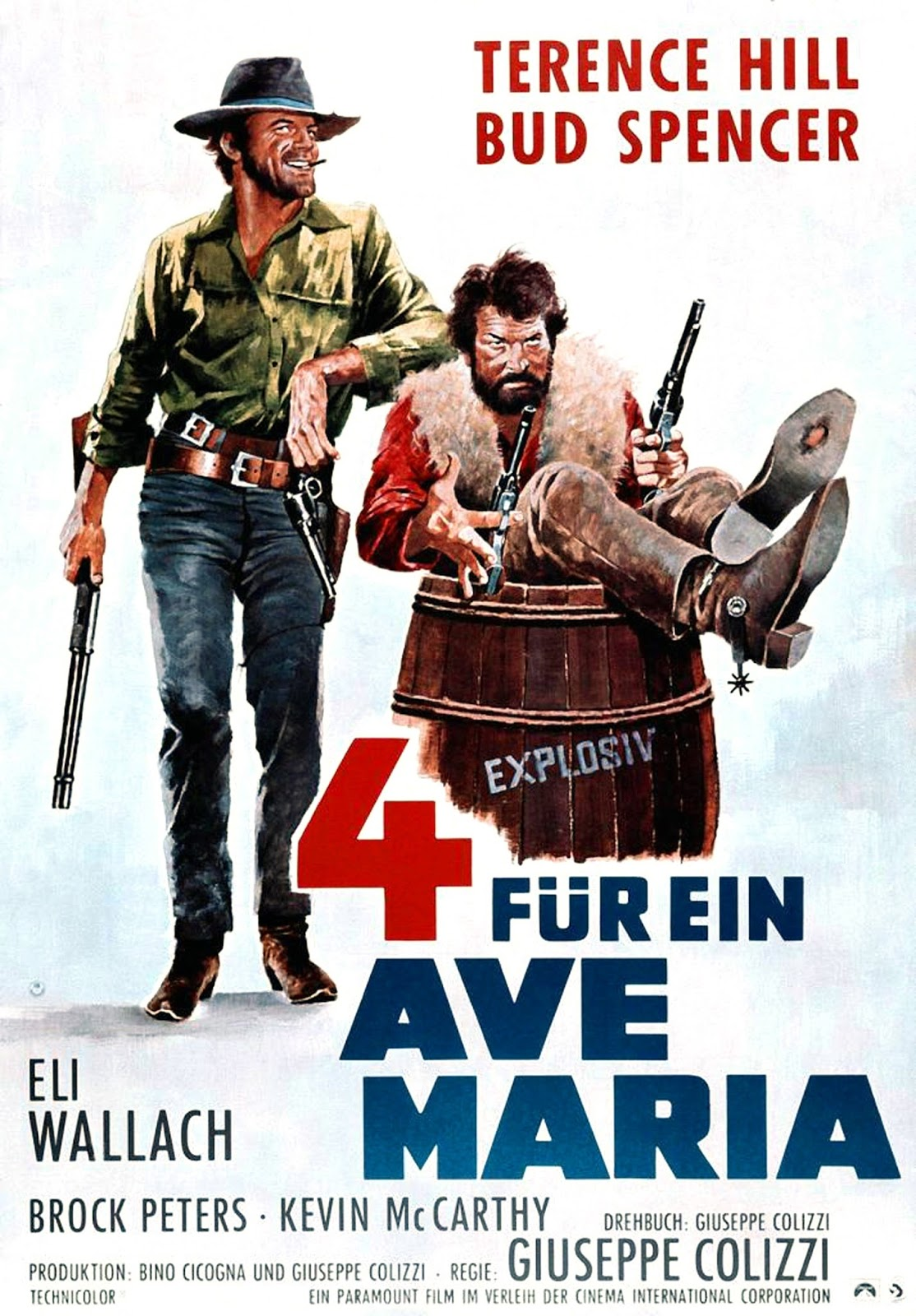 Filmes Bud Spencer E Terence Hill Dublado pertaining to le plein de super: terence hill & bud spencer dans les 4 de l'ave