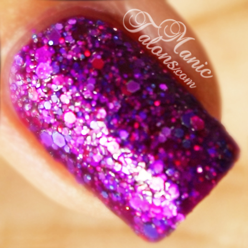 KBShimmer Too Pop To Handle Swatch, Textured Polish