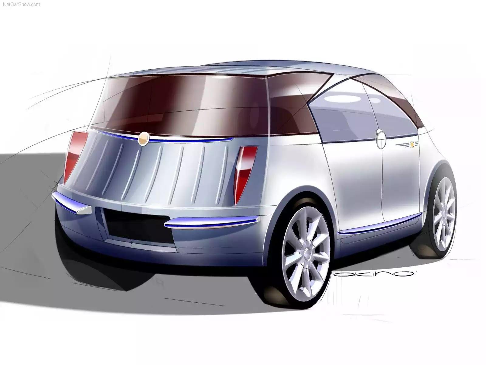 Hình ảnh xe ô tô Chrysler Akino Concept 2005 & nội ngoại thất