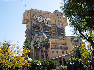 Tower Terror Twilight Zone DCA Disney California Adventure