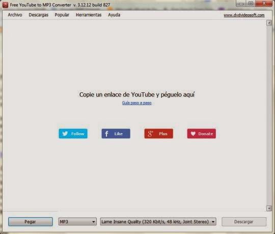 Descargar Audio de Youtube