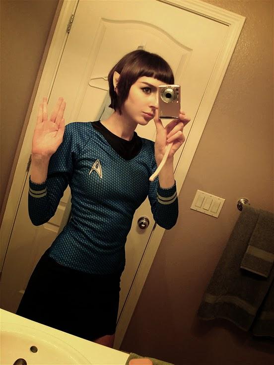Sexy Lady Spock