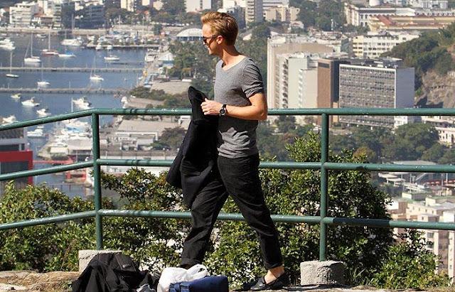 Jeep tour Rio de Janeiro - o ator Tom Felton na Favela Dona Marta