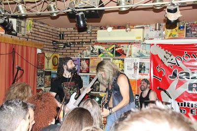 Ο  Doug Aldrich  και ο  Michael Devin πρώην μέλη των  «Whitesnake» στη Καβάλα :