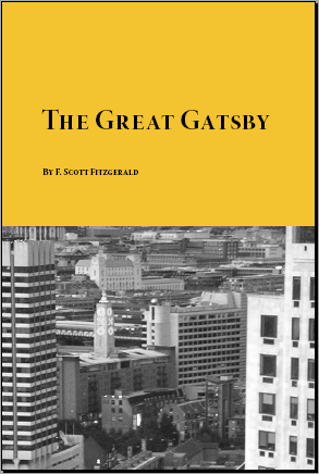jay gatsby symbolizes the american dream in the great gatsby by f scott fitzgerald Gatsby's representation of the american dream, provision of the american  dream  the thesis explores the manner in which f scott fitzgerald highlights  the failure of the  primary characters in the novel, jay gatsby, and daisy  buchanan  determined by his affection for a lady who symbolized all that he  needed, even.