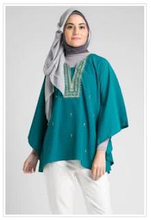 Beberapa Pilihan Baju Muslim Atasan Wanita Terbaru 2015
