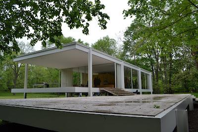 8 principios b sicos de la arquitectura de mies van der - Casa farnsworth ...
