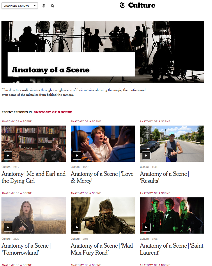 The Official SCBWI Blog: Anatomy of a Scene - a very cool resource ...