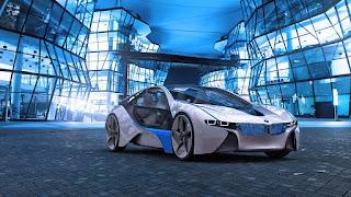BMW Vision Future Hybrid Architecture Supercar Bavaria HD Wallpaper