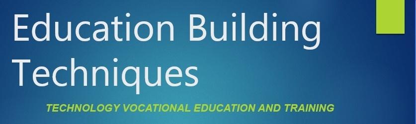 Pendidikan Teknik Bangunan