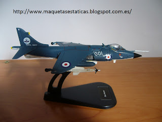 avión en miniatura Sea Harrier