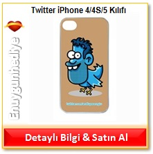 Twitter iPhone 4/4S/5 Kılıfı