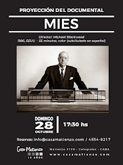 Proyección documental MIES. Director Michael Blackwood