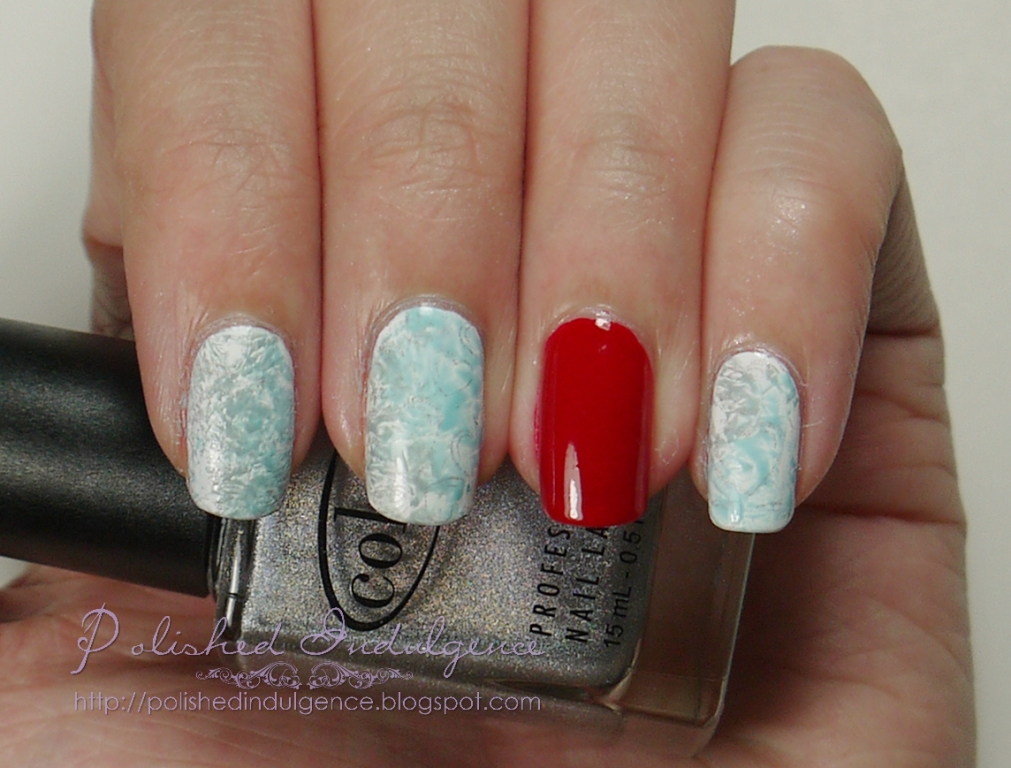 Polished Indulgence: Nail Art Wednesday: Two Years is Cotton or ...