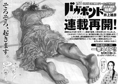 vagabond manga regreso serializacion 15 marzo 2012
