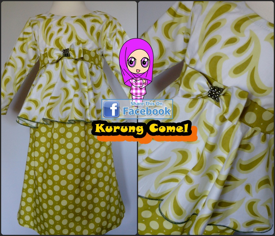 Kurung Comel, Exclusive Made to Wear