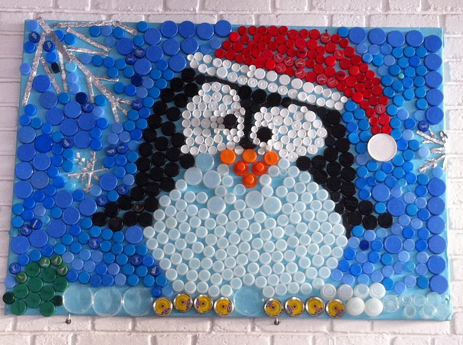 Red de centros educativos para la sostenibilidad - Adornos de navidad con material reciclado para ninos ...
