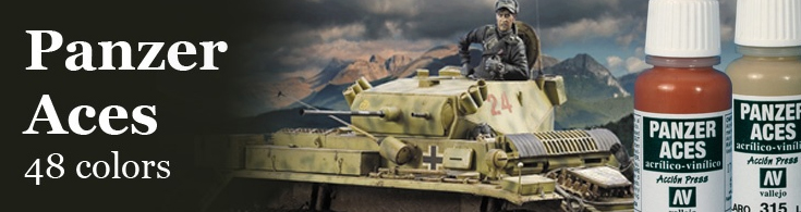 Panzer Aces color system WW2 tank painter