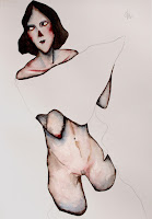 victor otero carbonell desnudo manta blanca