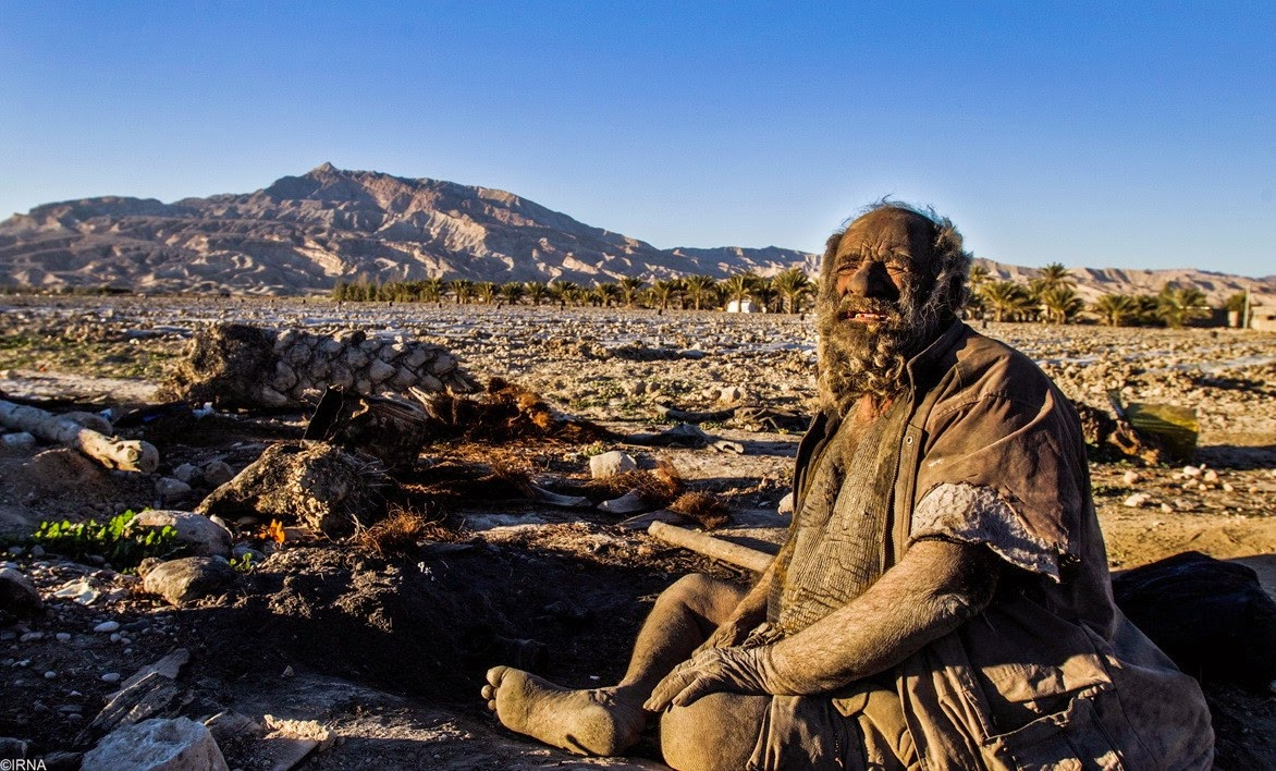 Iranian Man Hasn't washed 60 years