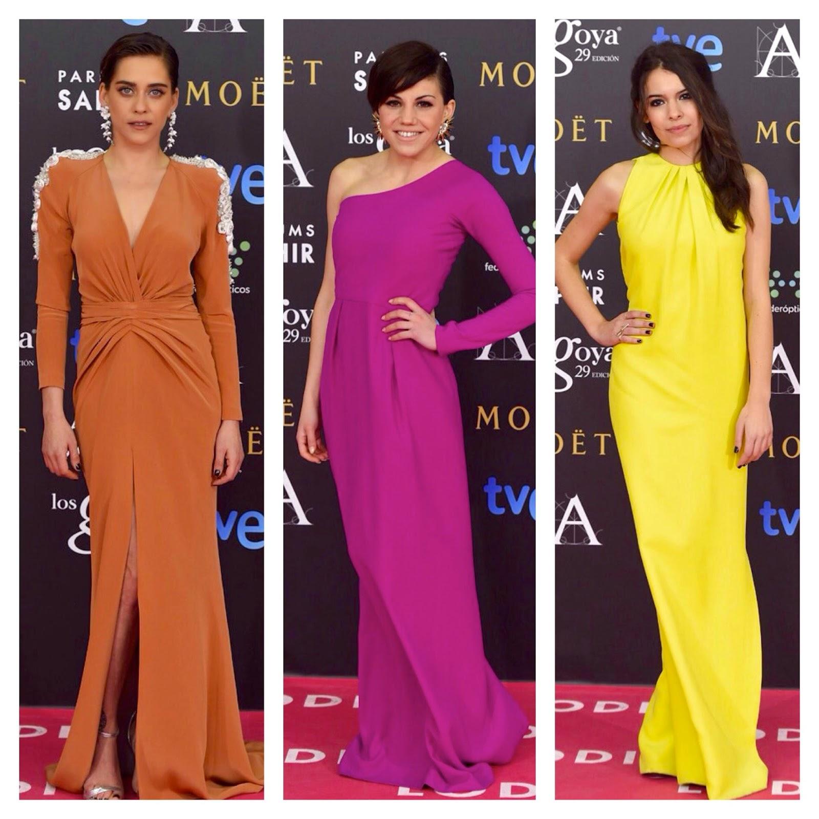 LA ALFOMBRA ROSA DE LOS GOYA 2015 | Tendencias de Moda: Carmen Jane ...