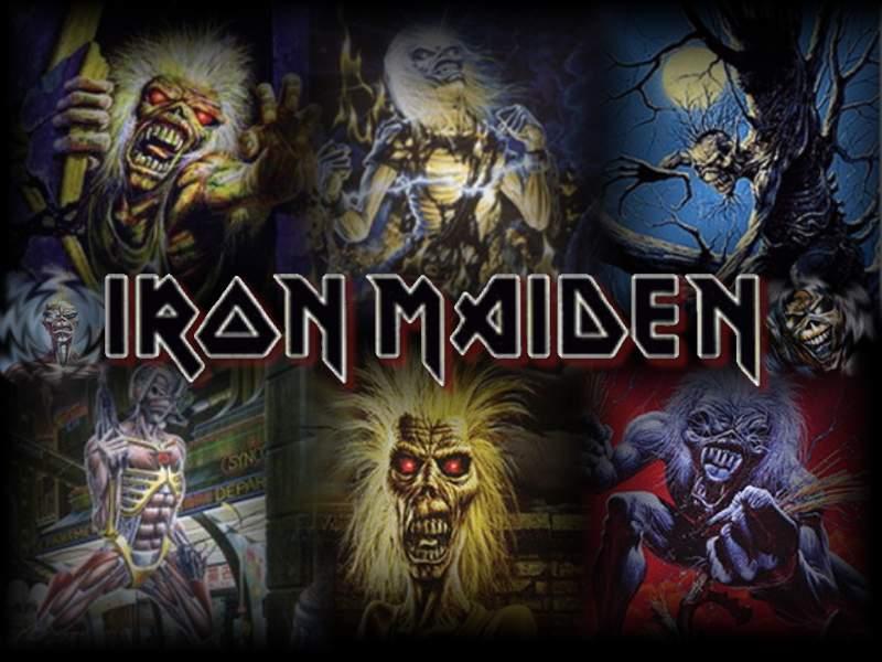 dibujos de iron maiden: