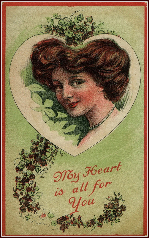 Vintage Valentine Post Cards