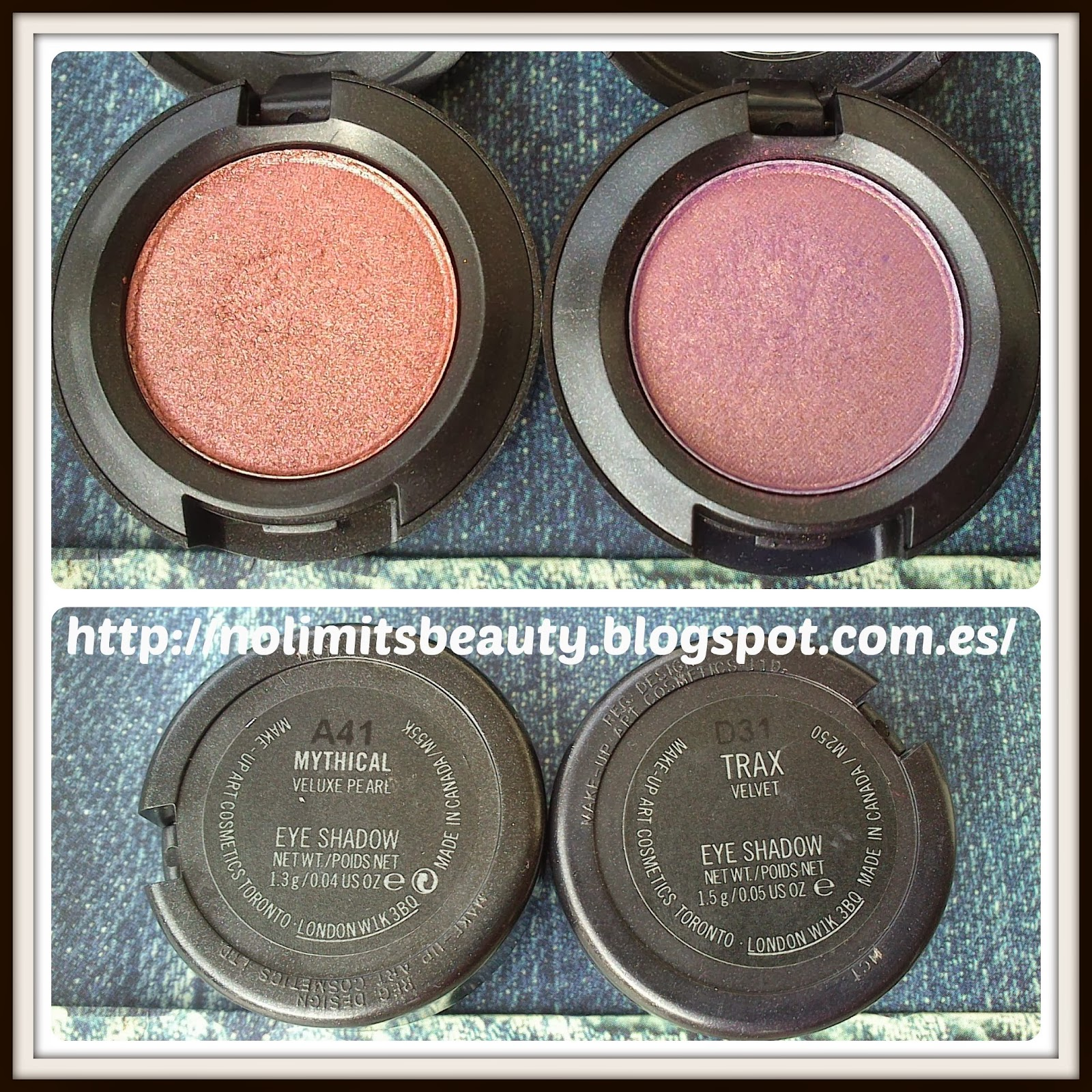 Mythical & Trax Eye Shadow de MAC