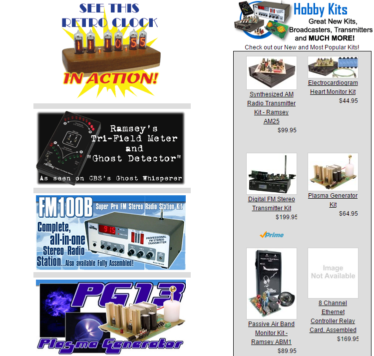 Bent tronics ramsey electronics shuts down its hobby kits division another long time electronics hobby kit manufacturer and retailer has closed down solutioingenieria Images