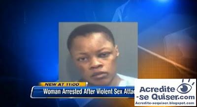 Mulher é presa após morder pênis de cliente