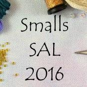 Stitching Lotus Ornament SAL