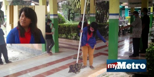 QZ8501 Cabaran Tukang Cuci Hospital