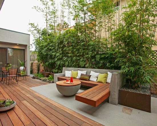 40 fabulous ideas to decorate your garden with bamboo for Terrasse english