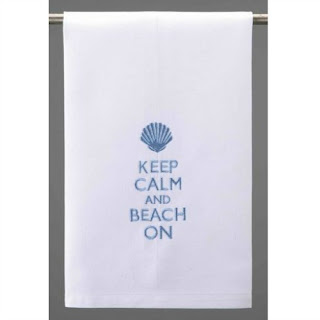 Keep Calm and Beach on Towel