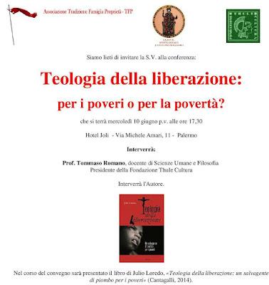 Presentazione del libro: Teologia della liberazione: per i poveri o per la povertà?