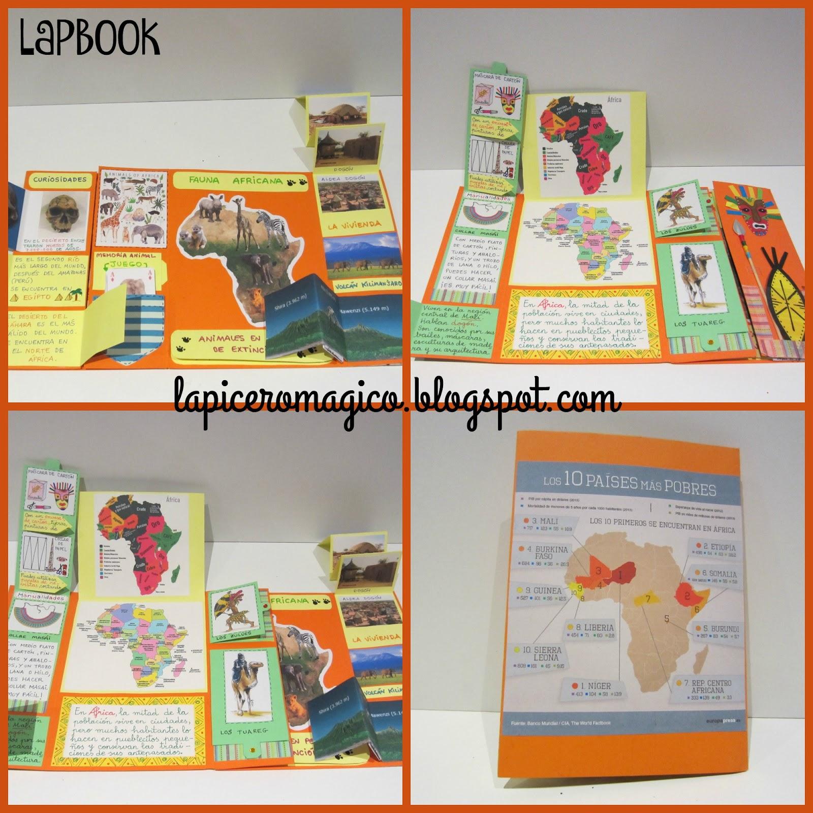 LAPICERO MÁGICO: Lapbook