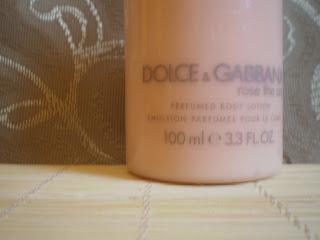 Dolce Gabbana balsam