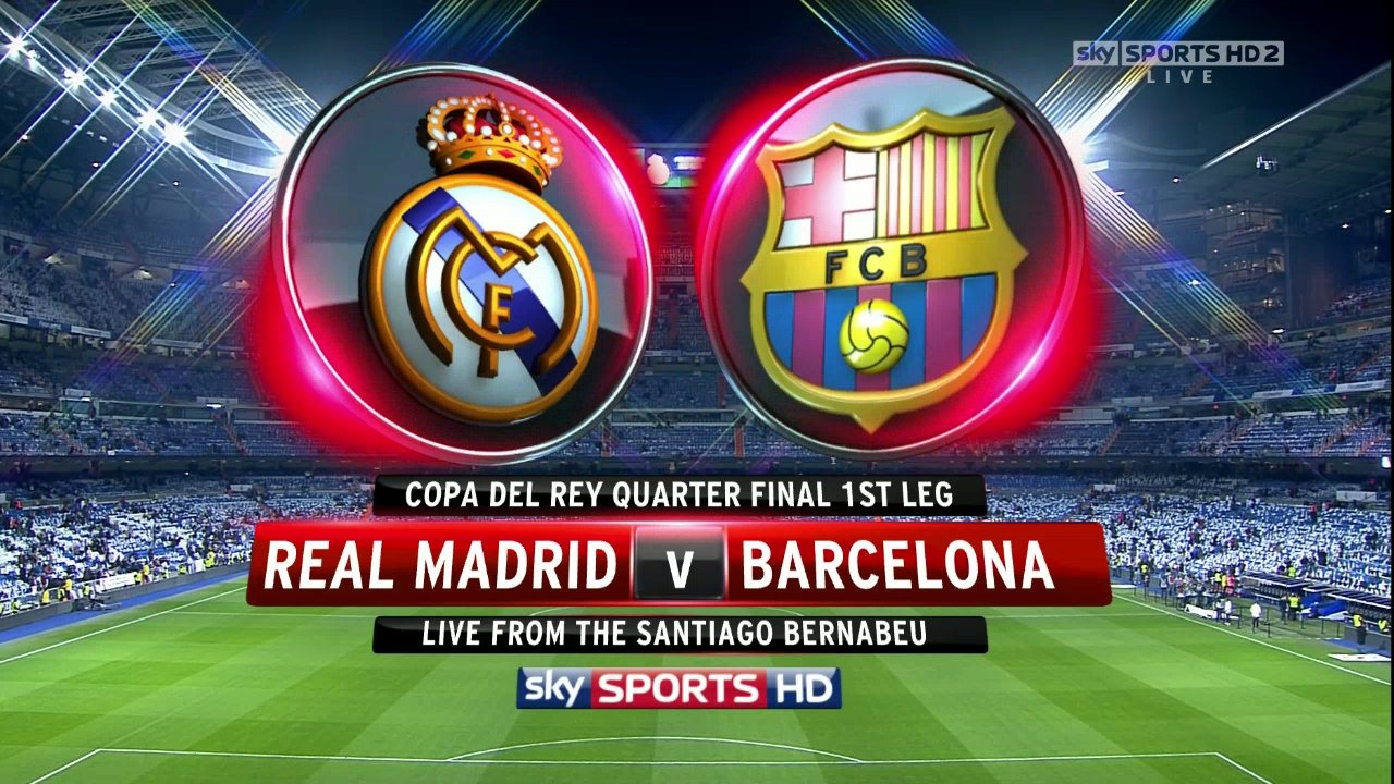 Copa Del Rey  Real Madrid Vs Barcelona