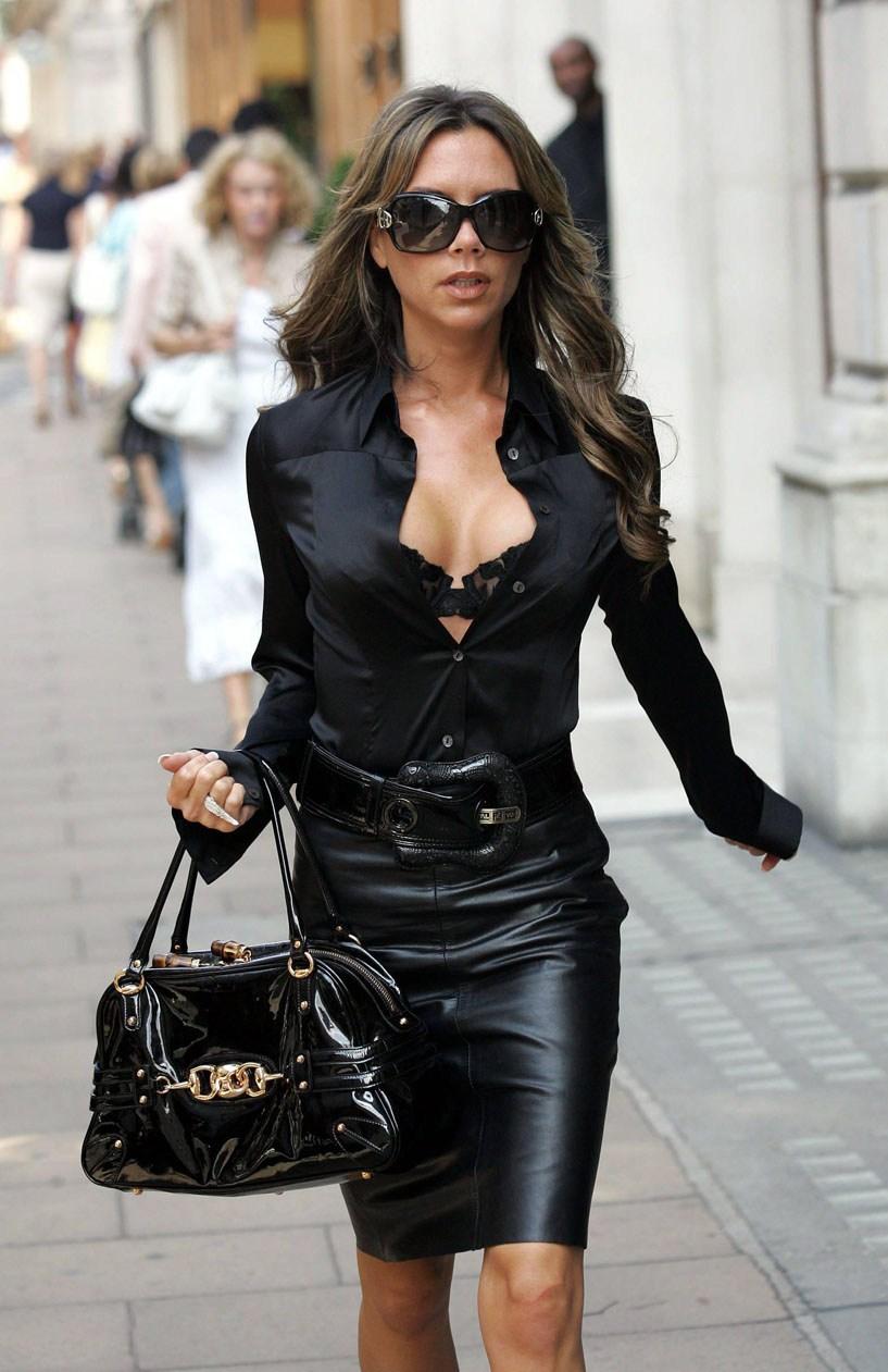 Фото женщин в кожаной одежды 25 фотография