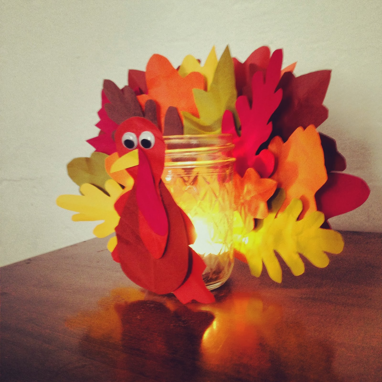 Paper thanksgiving decorations - photo#15