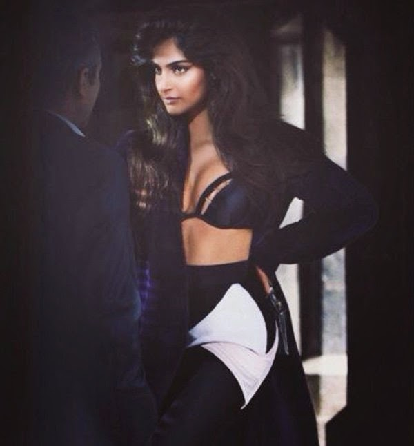 Sonam Kapoor Hot Photoshoot for Vogue Magazine September 2014