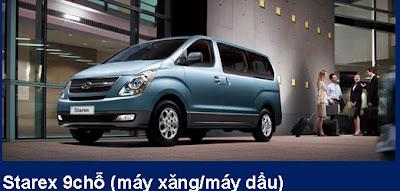 Bán Hyundai 9 chỗ