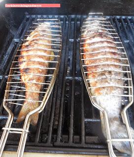 fischiscooking, forelle, grillen