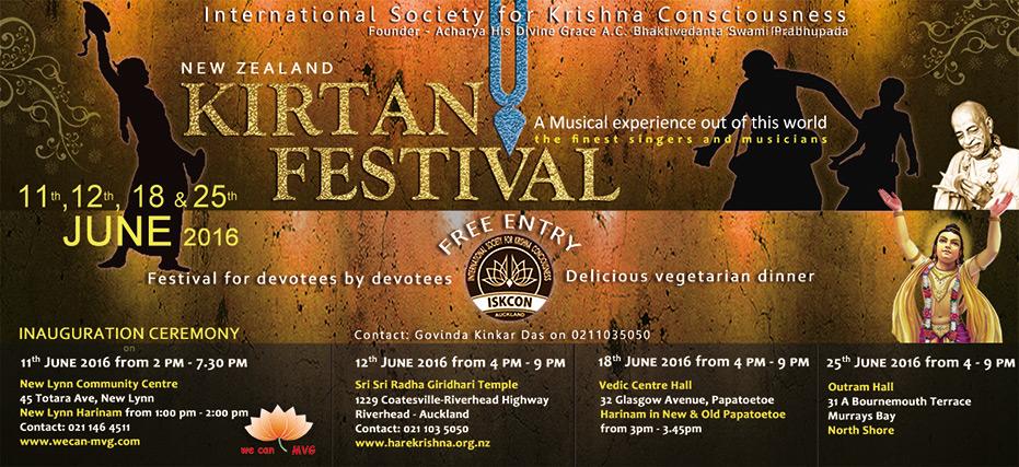 New Zealand Kirtan Festival 2016