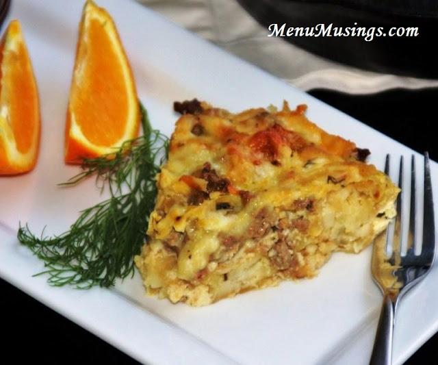 Menu Musings of a Modern American Mom: Hash Brown Breakfast Casserole