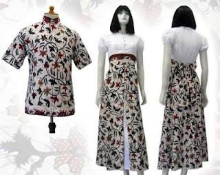 baju batik 2012