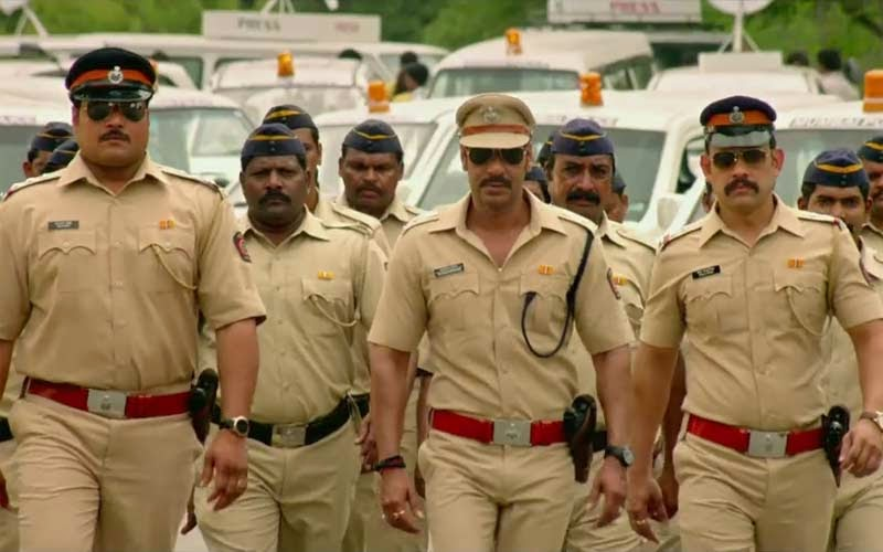 Singham returns police forge hd wallpapers