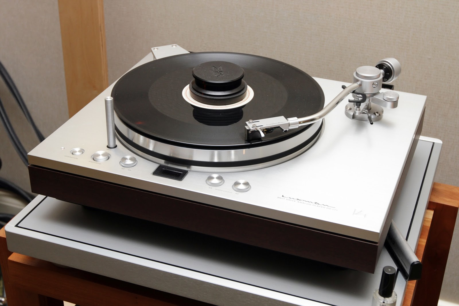 Golden age of audio luxman pd 171 turntable