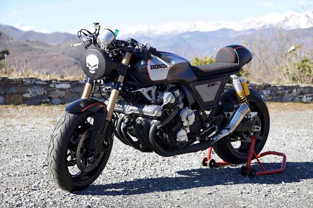 Foto Motor Gede HONDA CBX 1000 cafe racer